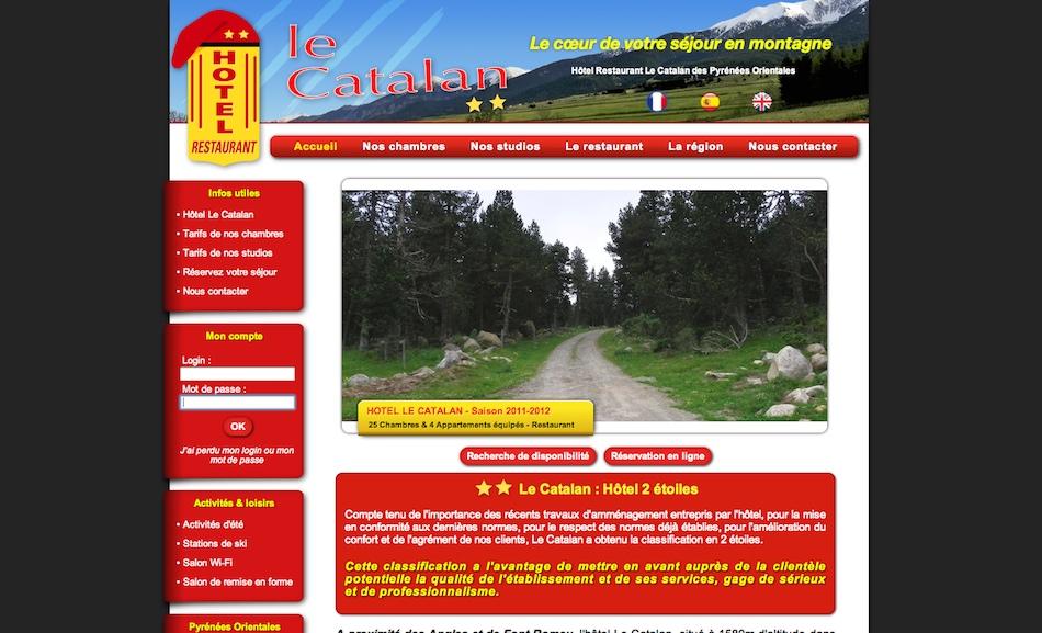 Newton concept r alisation d 39 un site permettant l for Site de reservation hotel gratuit